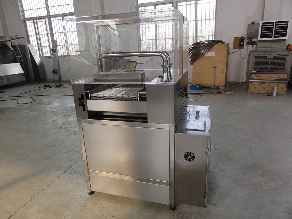 CTCM-600纯脂巧克力调温涂层机
