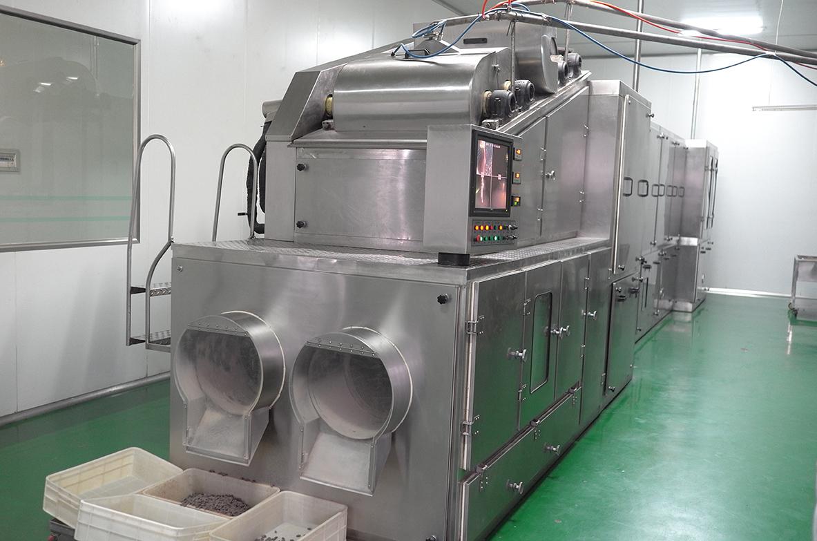 QK - I 巧克力豆内芯生产线